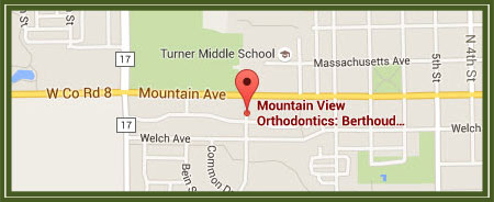 Google Maps Mountain View Orthodontics Longmont Berthoud CO