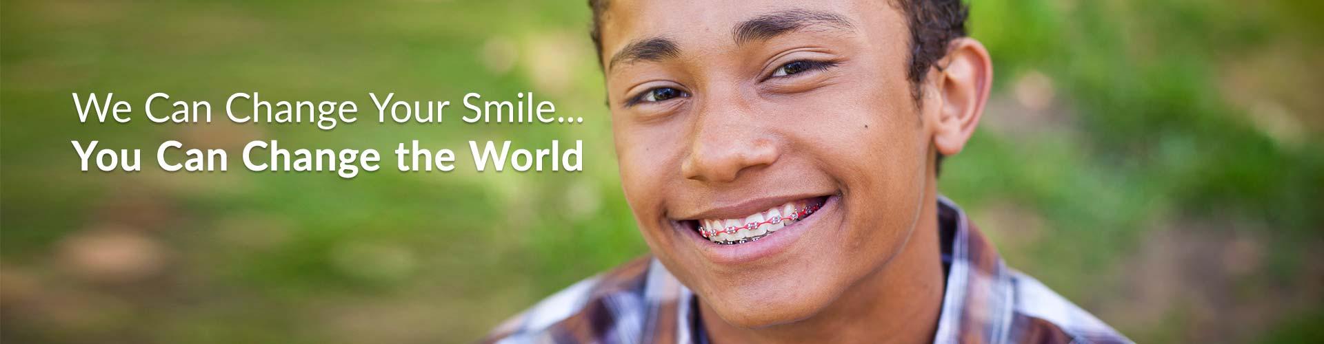 Tenn Boy with Braces Mountain View Orthodontics Longmont Berthoud CO