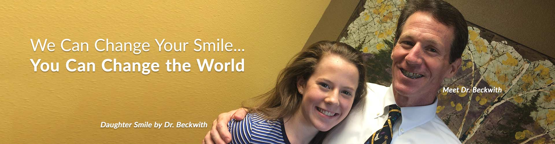 Beckwith and Daughter Before and After Mountain View Orthodontics Longmont Berthoud CO
